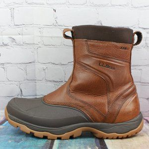 NEW! LL BEAN Zip Storm Chaser Hiking Boots Size 11